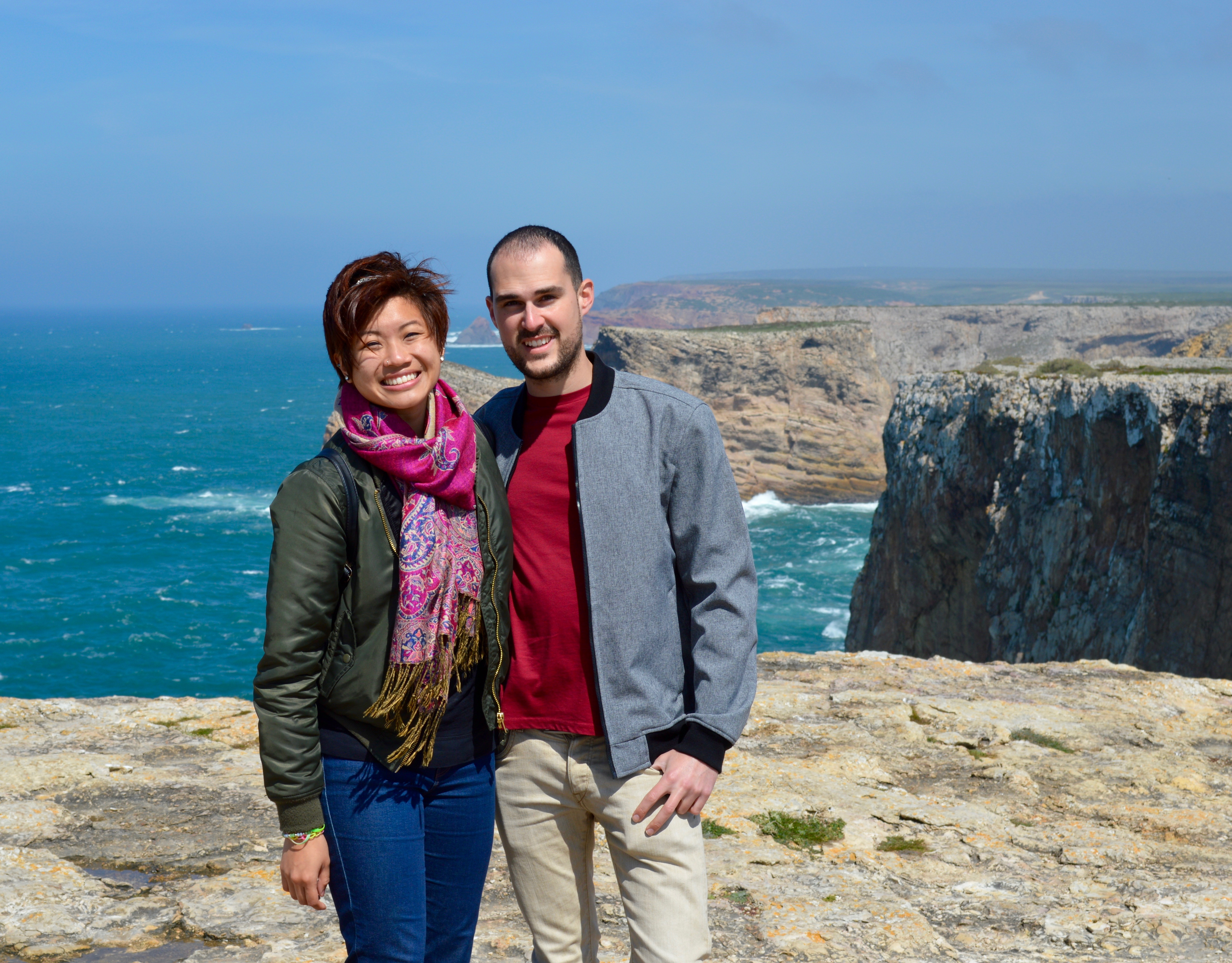 Internation Couples Series Sagres, Portugal -- The Quirky Pineapple